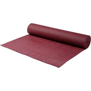 YOGISTAR.COM Yoga Matte bordeaux