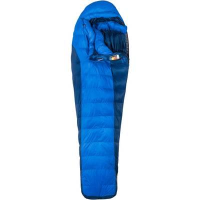Marmot Sawtooth Daunenschlafsack blau