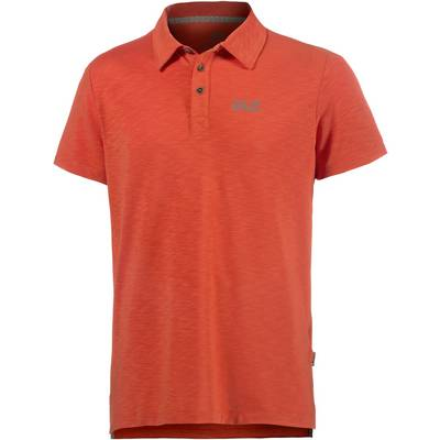 Jack Wolfskin Travel Poloshirt Herren orange