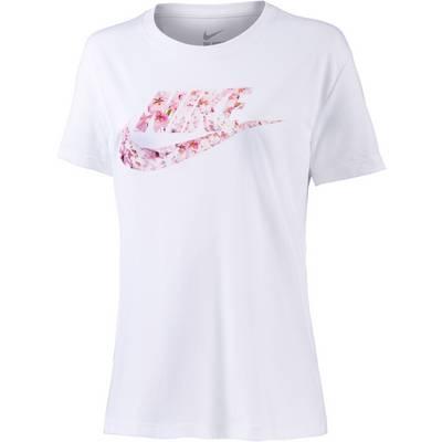 Nike Printshirt Damen weiß