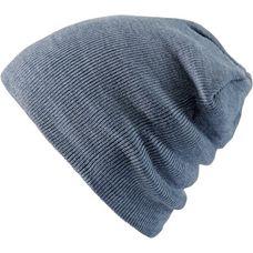 MasterDis Basic Flap Beanie blau