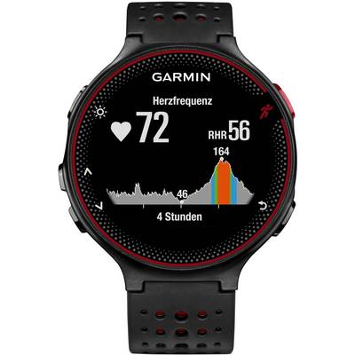 garmin forerunner 235 sportuhr schwarz rot im online shop. Black Bedroom Furniture Sets. Home Design Ideas