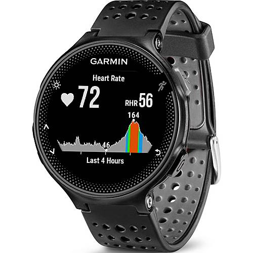 garmin forerunner 235 sportuhr schwarz grau im online shop. Black Bedroom Furniture Sets. Home Design Ideas