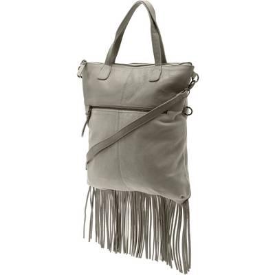 Pieces Handtasche Damen grau