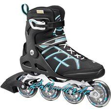 ROLLERBLADE Astro ST W Fitness Skates Damen schwarz/hellblau