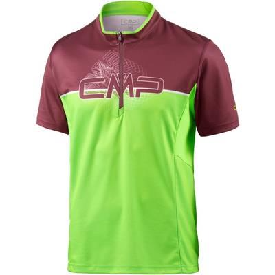 CMP Fahrradtrikot Herren grün/rot