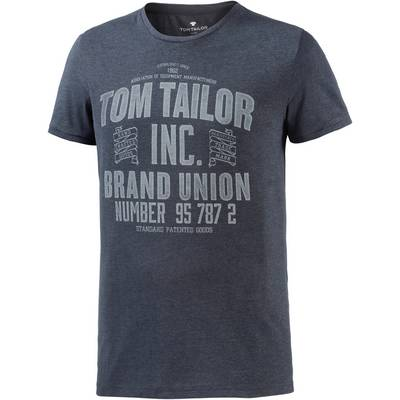 TOM TAILOR Printshirt Herren navy
