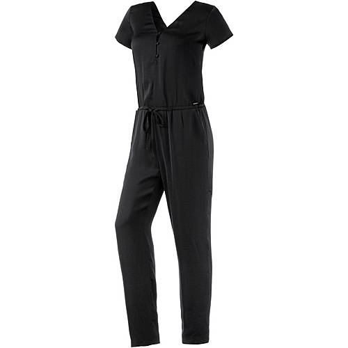 Pepe Jeans Jumpsuit Damen schwarz