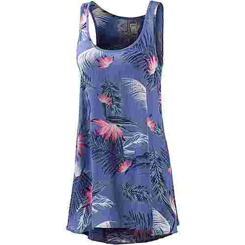 Roxy Bring summer back Trägerkleid Damen blau/allover