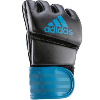 adidas MMA GRAPPLING Training Boxhandschuhe schwarz/blau