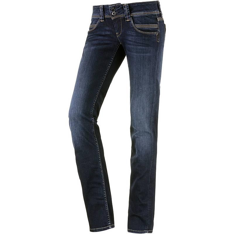 Pepe Jeans Venus Straight Fit Jeans Damen darkblue denim im Online ... 370faf3fff