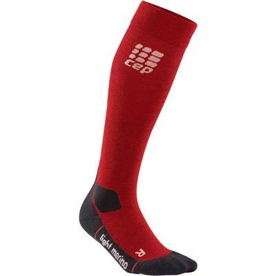CEP Outdoor Light Merino Socks Wandersocken Damen rot
