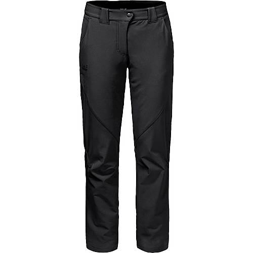 Jack Wolfskin Chilly Track XT Softshellhose Damen black im Online Shop von SportScheck kaufen