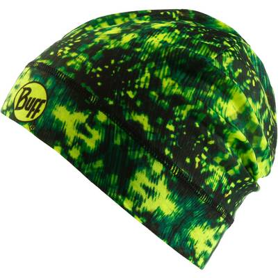 BUFF Microfiber 1 Layer Hat Beanie Carson Yellow Fluor