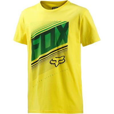 Fox Static T-Shirt Herren gelb
