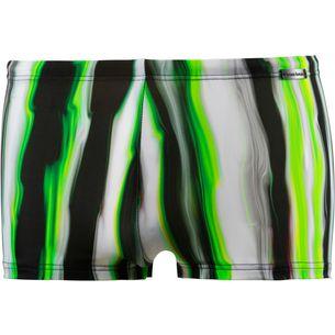 BRUNO BANANI Crazy Wave Kastenbadehose Herren grün/schwarz/weiß
