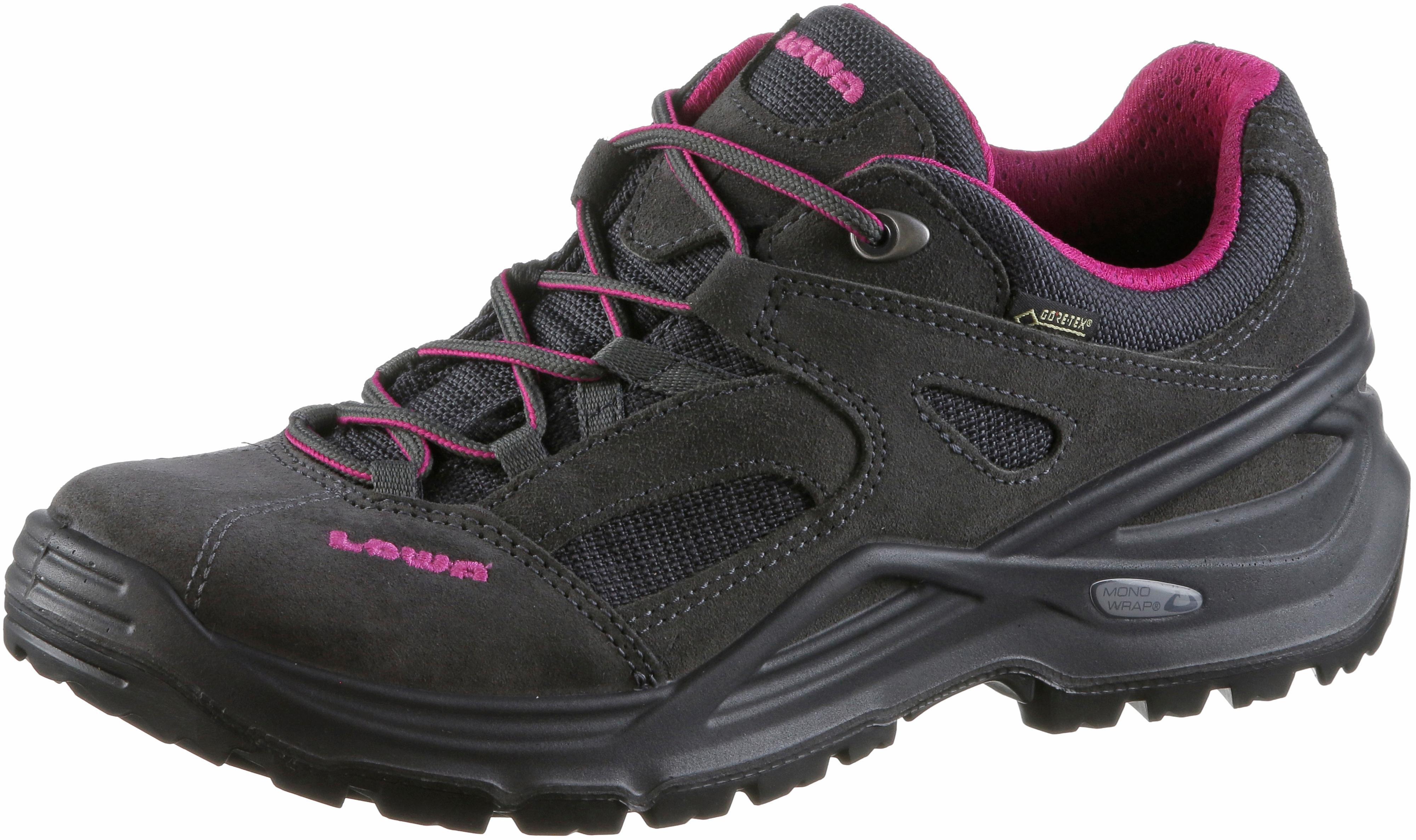 Lowa Sirkos Wanderschuhe Damen anthrazit bordeaux im Online Shop von von von SportScheck kaufen Gute Qualität beliebte Schuhe d06953