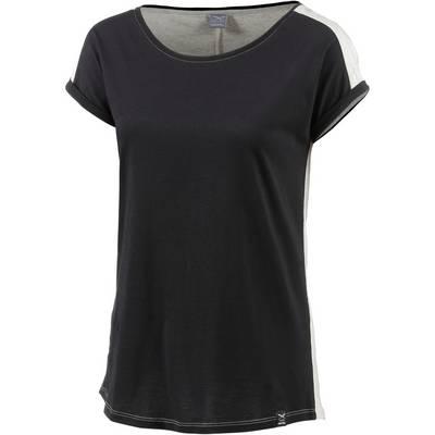 iriedaily Backside T-Shirt Damen schwarz/ecru