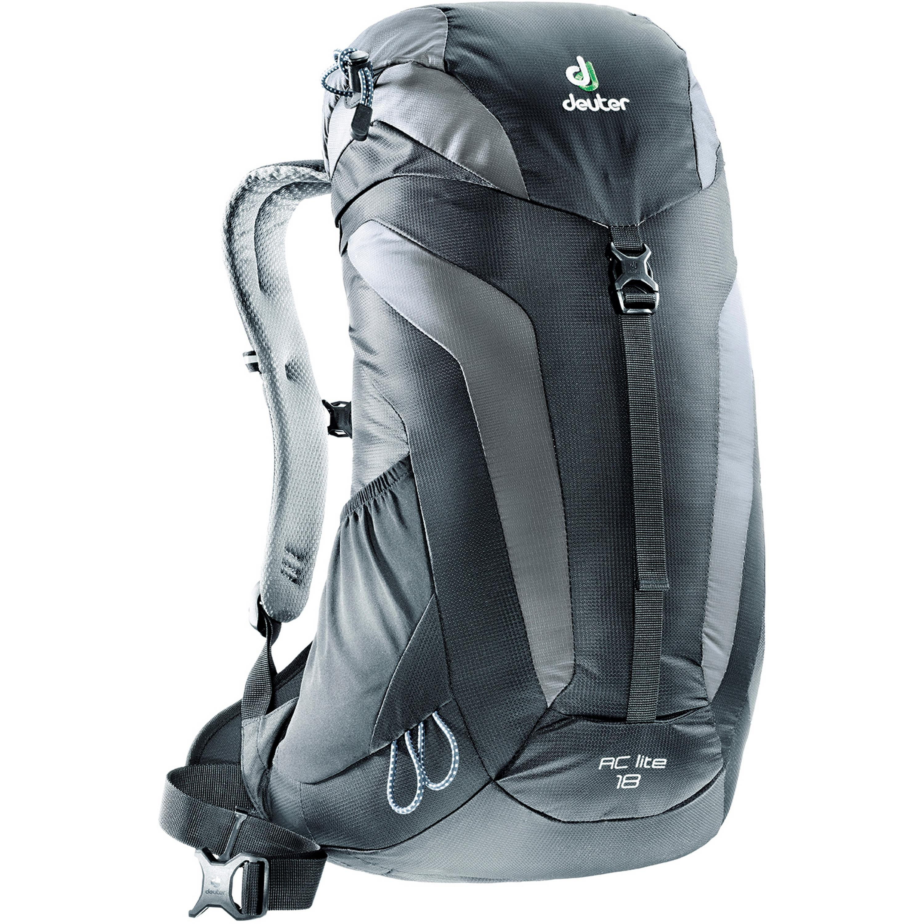 Image of Deuter AC Lite 18 - Tages Wanderrucksack - black/titan