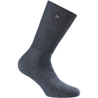 Rohner Fibre Light SupeR Merino Wandersocken blue denim