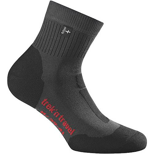 Rohner Trek`n Travel Wandersocken anthrazit