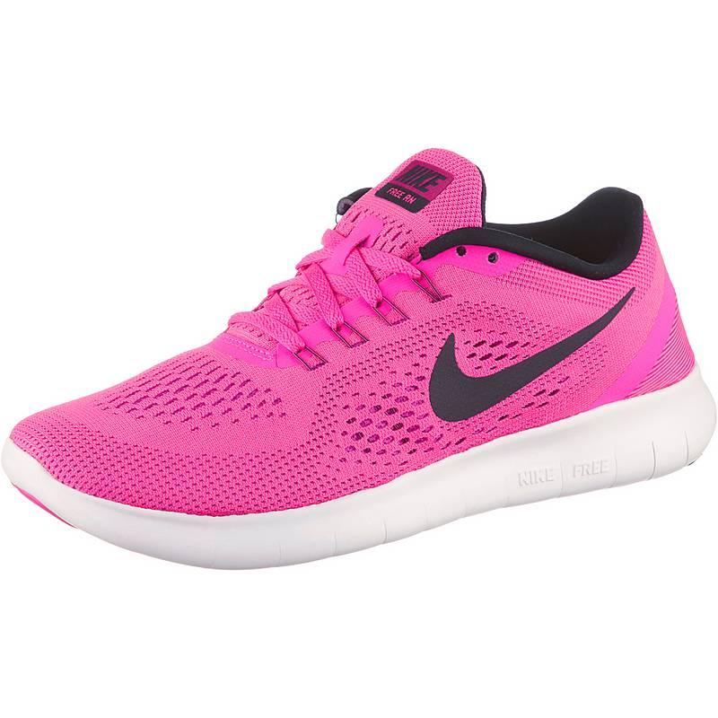 Nike Free RN Damen Laufschuhe pink M7TCM
