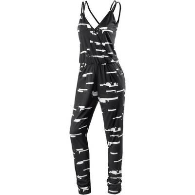 Ichi Jumpsuit Damen schwarz/weiß