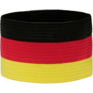 JAKO Kapitänsbinde schwarz/rot/gelb