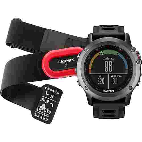 garmin fenix 3 grau performer bundle sportuhr grau im. Black Bedroom Furniture Sets. Home Design Ideas