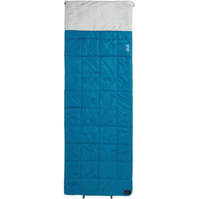 Jack Wolfskin 4-In-1 Blanket +5 Kunstfaserschlafsack dunkeltürkis
