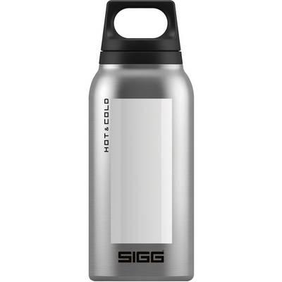 SIGG Hot & Cold Isolierflasche weiß/silberfarben