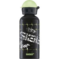 SIGG Football Splash Trinkflasche Kinder schwarz