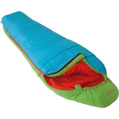 VAUDE Dreamer Adjust 350 S Kunstfaserschlafsack Kinder grün/blau