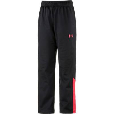 Under Armour Trainingshose Kinder schwarz/rot