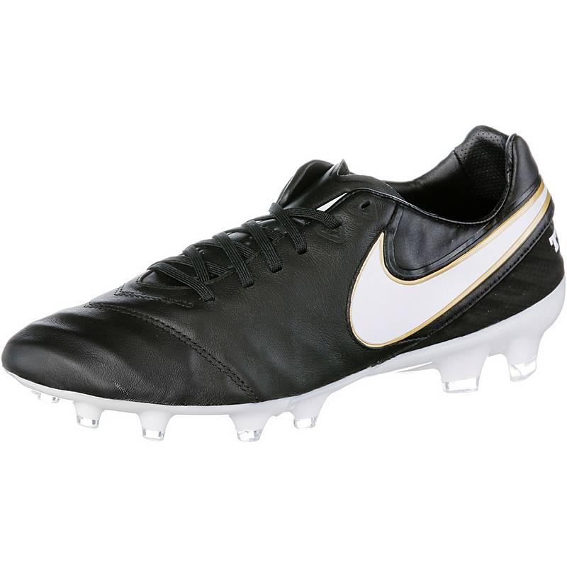 best service 63cf1 35b0e Nike TIEMPO LEGACY II FG Fußballschuhe Herren schwarzweiß