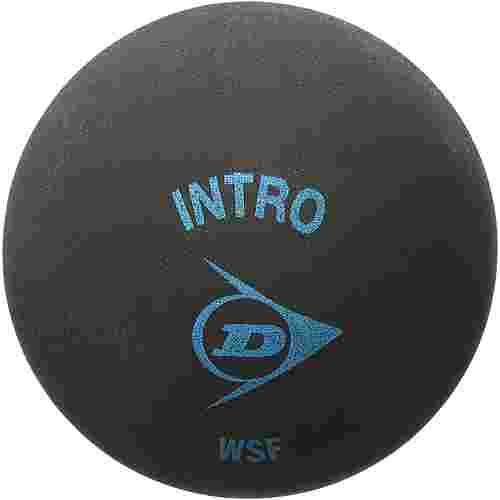 Dunlop Intro Squashball schwarz