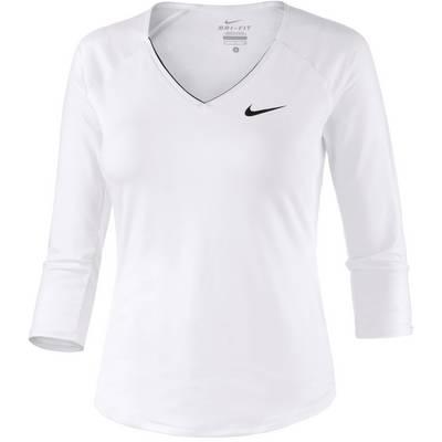 Nike Pure Funktionsshirt Damen weiß
