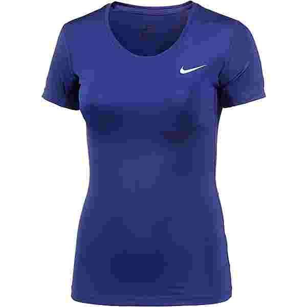 Nike Pro Dry Fit Funktionsshirt Damen royal