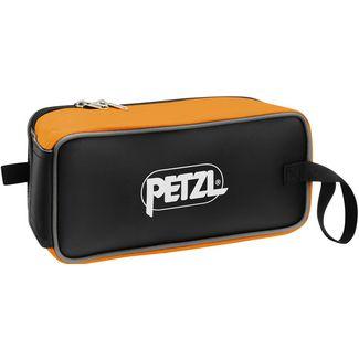 Petzl Fakir Steigeisentasche orange-schwarz