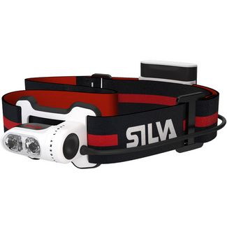 SILVA Trail Runner 2 Stirnlampe LED schwarz-rot