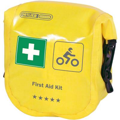 ORTLIEB First Aid Kit Safety Level High Motorrad Erste Hilfe Set gelb
