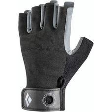 Black Diamond Crag Half-Finger Fingerhandschuhe Herren schwarz