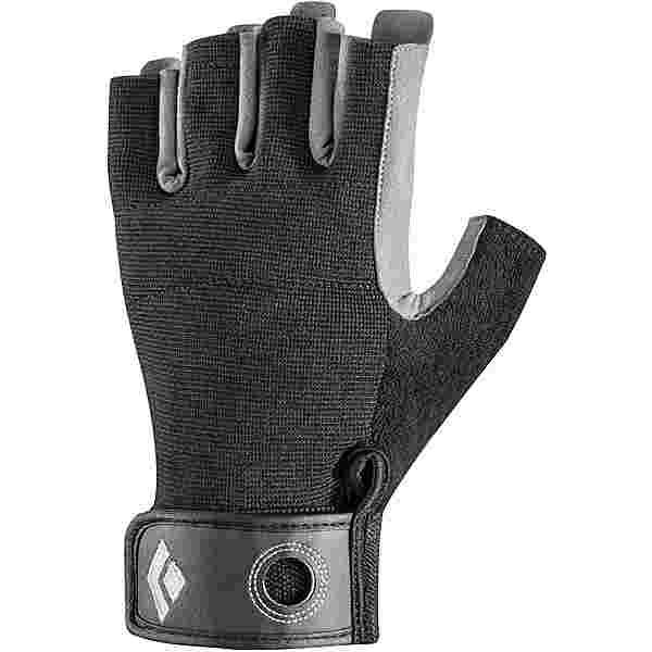 Black Diamond Crag Half-Finger Kletterhandschuhe black