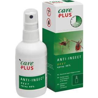 Care Plus Anti-Insect Deet 40% Insektenschutz weiß