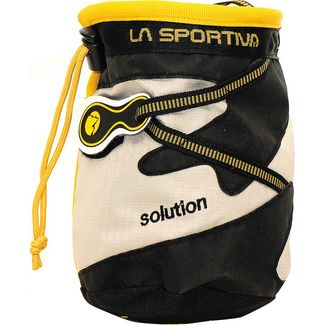 La Sportiva Solution Chalkbag schwarz-beige