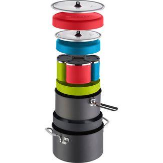 MSR Flex 4 Campingkocher Zubehör schwarz-blau-grün-rot