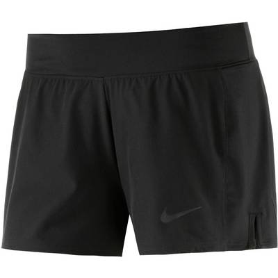 Nike Baseline Tennisshorts Damen schwarz