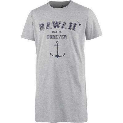 WLD Hawaii Forever Longshirt Herren graumelange
