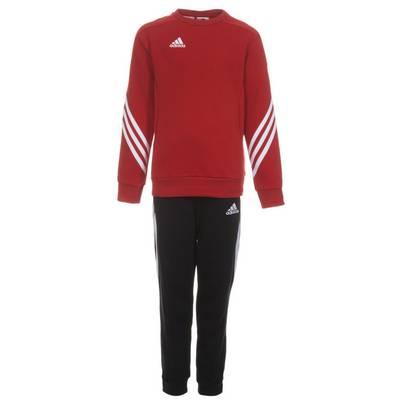 adidas Sereno 14 Trainingsanzug Kinder rot / schwarz