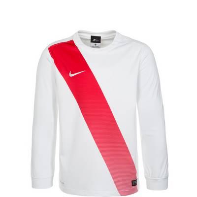 Nike Sash Fußballtrikot Kinder weiß / rot